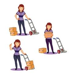 Female Remover Staff vector