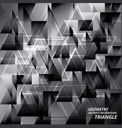 Geometry abstract background pattern triangle vector