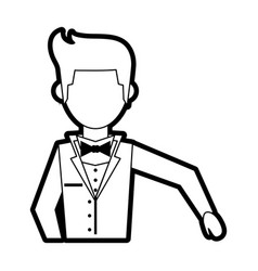 groom vector image
