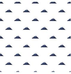 mountain pattern seamless vector image