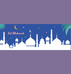 ramadan kareem happy ramadan greeting card and vector image