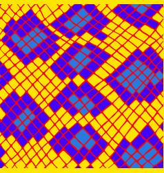 yellow tropical animal snake skin seamless pattern vector image