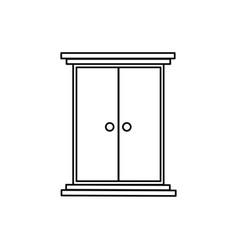 closet icon vector image