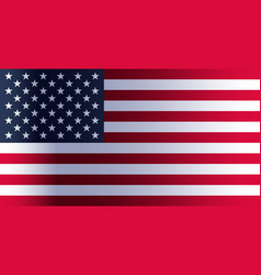 American flag day vector