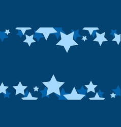 Blue star style background collection vector