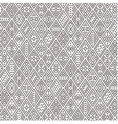brown geometric ornament vector image