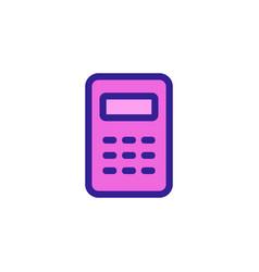 Cashier icon isolated contour symbol vector