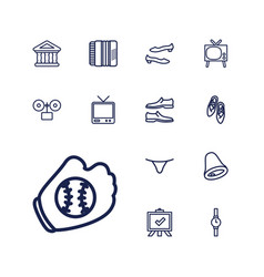 Classic icons vector