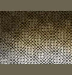 fish scale animal background and texture good vector image