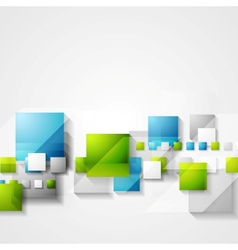 Shiny hi-tech green and blue background vector