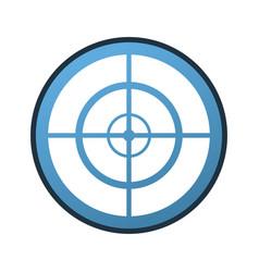 Shooter game linecolor vector