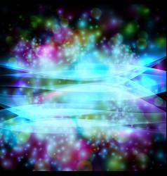 stars on black eps10 vector image