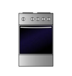 electric stove vector image