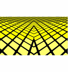 yellow geometric abstract background vector image vector image