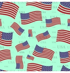 seamless texture USA flag bright country nation vector image