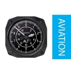 Altimeter vector image