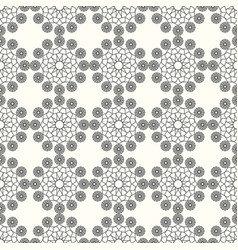arabic pattern seamless background geometric vector image