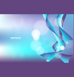 blue abstract background with modern style vector image