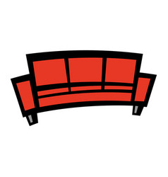 Couch icon vector