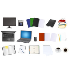 office supplies vector image vector image
