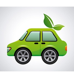 eco car design vector image