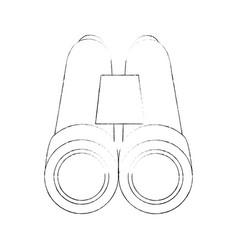 binoculars military equipment vector image