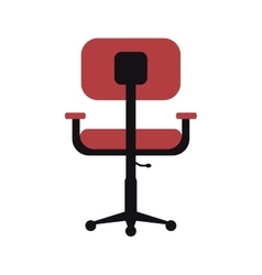 chair office comfort workplace design vector image