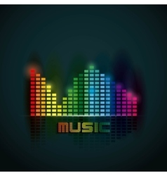 music mobile design vector image vector image