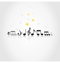 Musical note vector image vector image