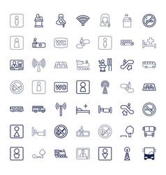 49 public icons vector