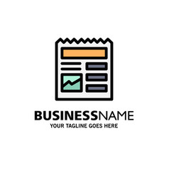 Document basic ui picture business logo template vector