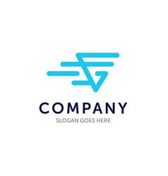 G logo initial modern design for business vector