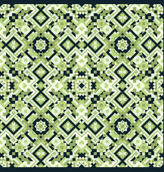 Geometric ethnic style seamless pattern vector