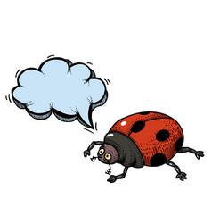 Ladybug-100 vector