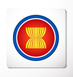 Logo asean vector