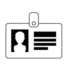 safety card isolated icon vector image