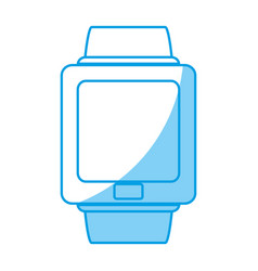 Smartwatch device icon vector