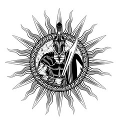 Sparta sword 0002 vector