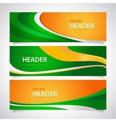 headers1 vector image