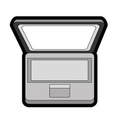 Laptop pc computer vector