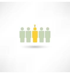 people fresh idea vector image
