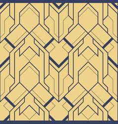 Abstract art deco modern geometric tiles pattern vector