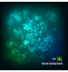 Abstract light background Green blue colors vector