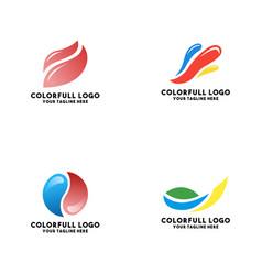 Bundle logo modern trend concept vector