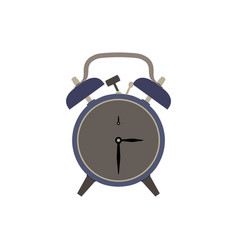 clock alarm icon time wake background isolated vector image