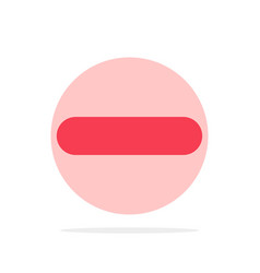Delete less minus remove abstract circle vector