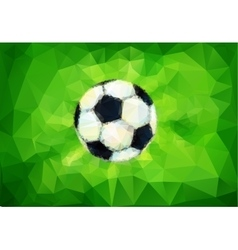 Football image vector image
