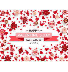 Happy valentine day background good design vector