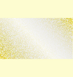 luxury golden dotted and gradiented background vector image