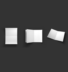 mockup on dark background vector image